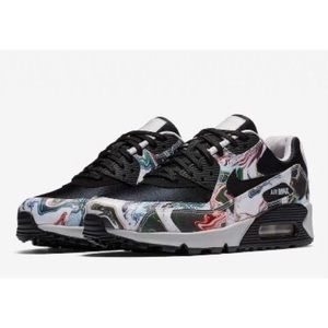 NEW Nike Air Max 90 Marble Dye Sneakers Size 6.5